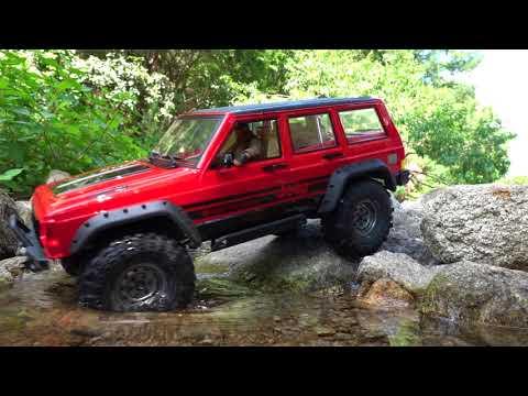 Vaterra Ascender Jeep Cherokee XJ | SCX10Rubicon JK | Valley Adventure