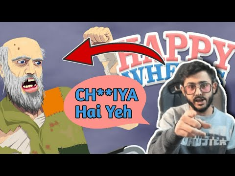 Download Happy Wheels | Maza Aya😂 | ft.CarryMinati | Happy Wheels Gameplay | AUZY !