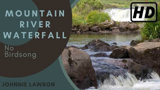 1 hour Soothing Nature Sounds-Sound of Water W/O Birds Singing-Relaxation-Relaxing Waterfall