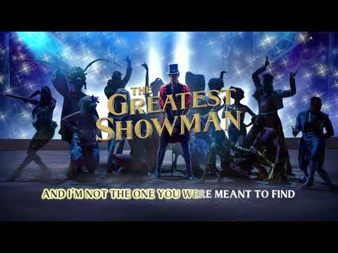 The Greatest Showman Cast - Rewrite The Stars (Instrumental) [Official Lyric Video]