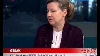 Prof Dr Dolunay ŞENOL Ve Sosyolog Hasan KALA TRT Haber Özel Gündem Programı 21 EKİM GESAK
