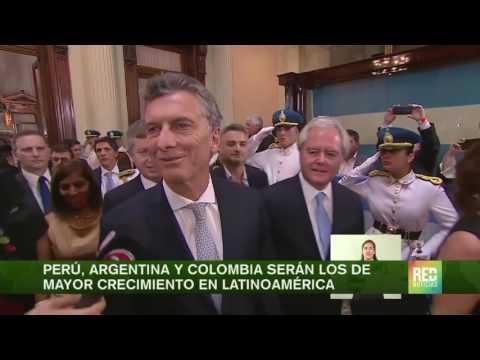 Perú, Argentina y Colombia serán los de mayor crecimiento en Latinoamérica