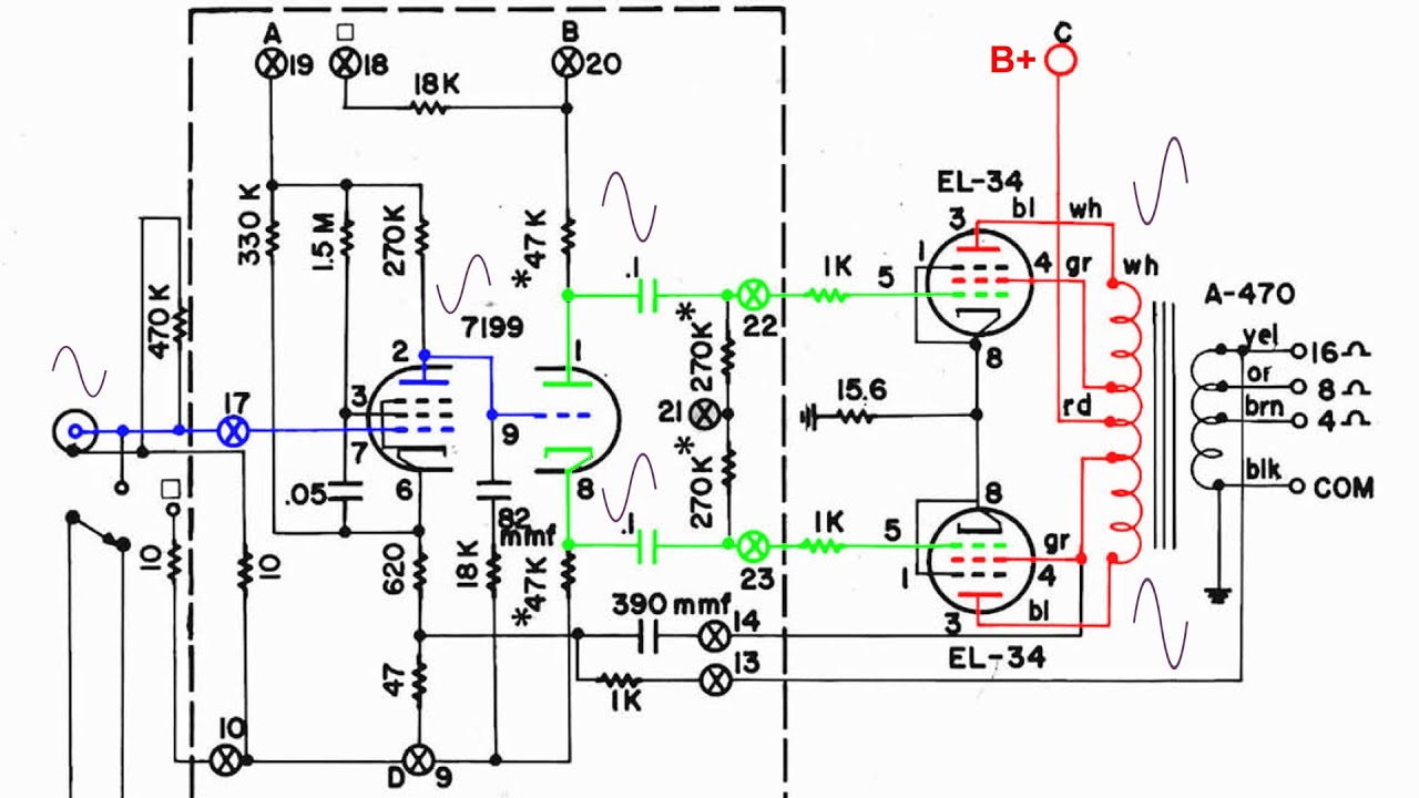 maxresdefault dynaco st 70 amplifier circuit youtube dynaco st70 wiring diagram at reclaimingppi.co