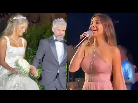 Nancy Ajram In Brother's Wedding Party / نانسي عجرم في حفل زفاف شقيقها نبیل عجرم