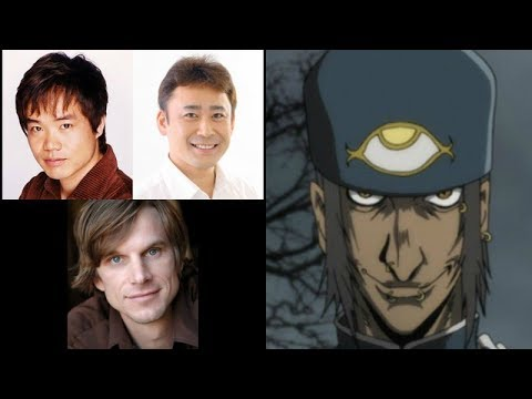 Anime Voice Comparison- Jan Valentine (Hellsing)