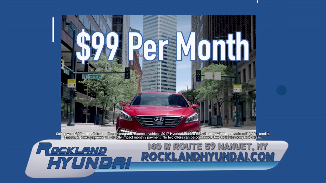 Rockland Hyundai 99 Down Or Per Month