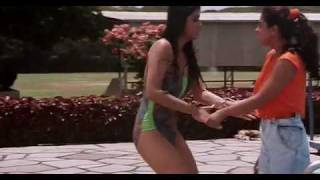 shilpa shetty in swimsuit - baazigar (1993)