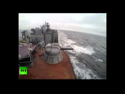 Live fire raw Russian Arctic fleet drills, testfires multiple missile systems