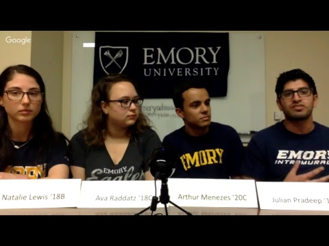 Emory Students Class of 2021 Hangout #1
