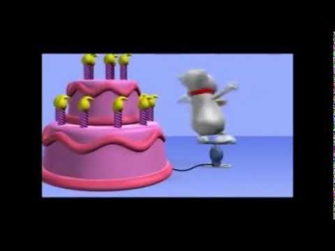 cartão de aniversáriowmv - YouTube