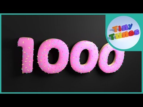Counting By 100 to 1000 Song | Skip Counting By 100 | Tiny Tunes