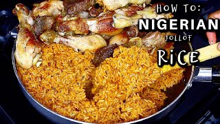 NIGERIAN PARTY JOLLOF : HΟW TO MAKE NIGERIAN JOLLOF RICE | OMABELLETV