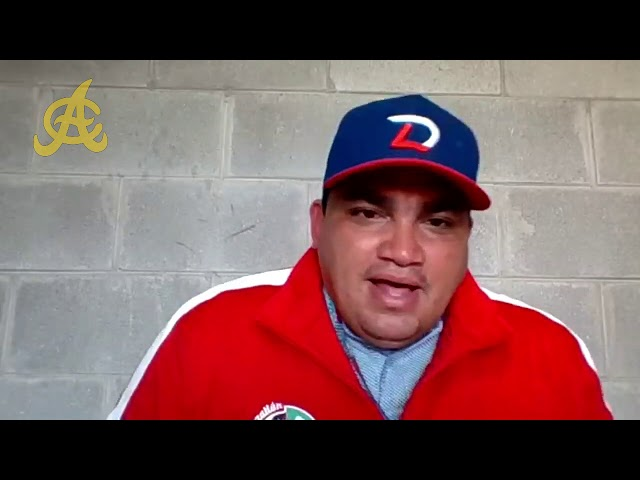 Entrevista al Gerente General de Águilas Cibaeñas, Ángel Ovalles desde Mazatlán