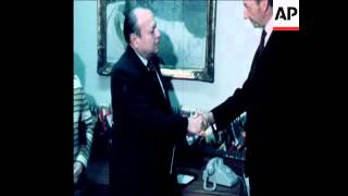 SYND 24-1-73 WALDHEIM PRESENTS CHEQUE TO MANAGUA EARTHQUAKE VICTIMS