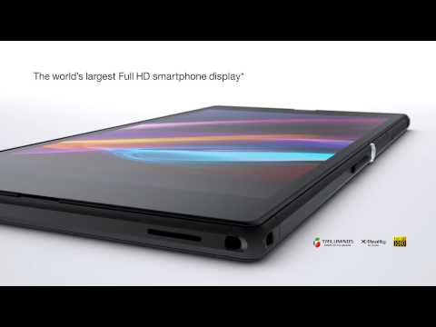 Xperia Z Ultra - The Slim, Large Screen Smartphone From Sony