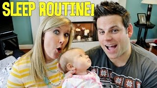 BABY'S SLEEP ROUTINE | Baby Steps: Cullen & Katie