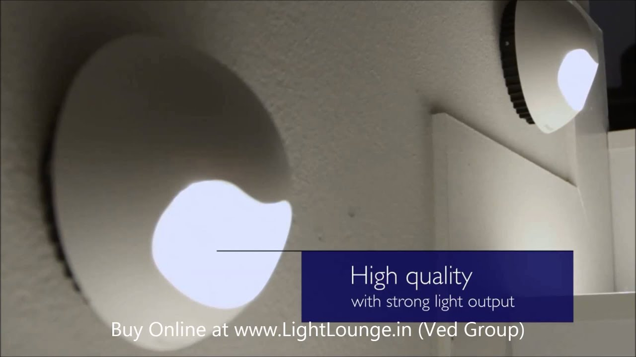 Philips ledino led wall light 1080p hd video youtube mozeypictures Image collections