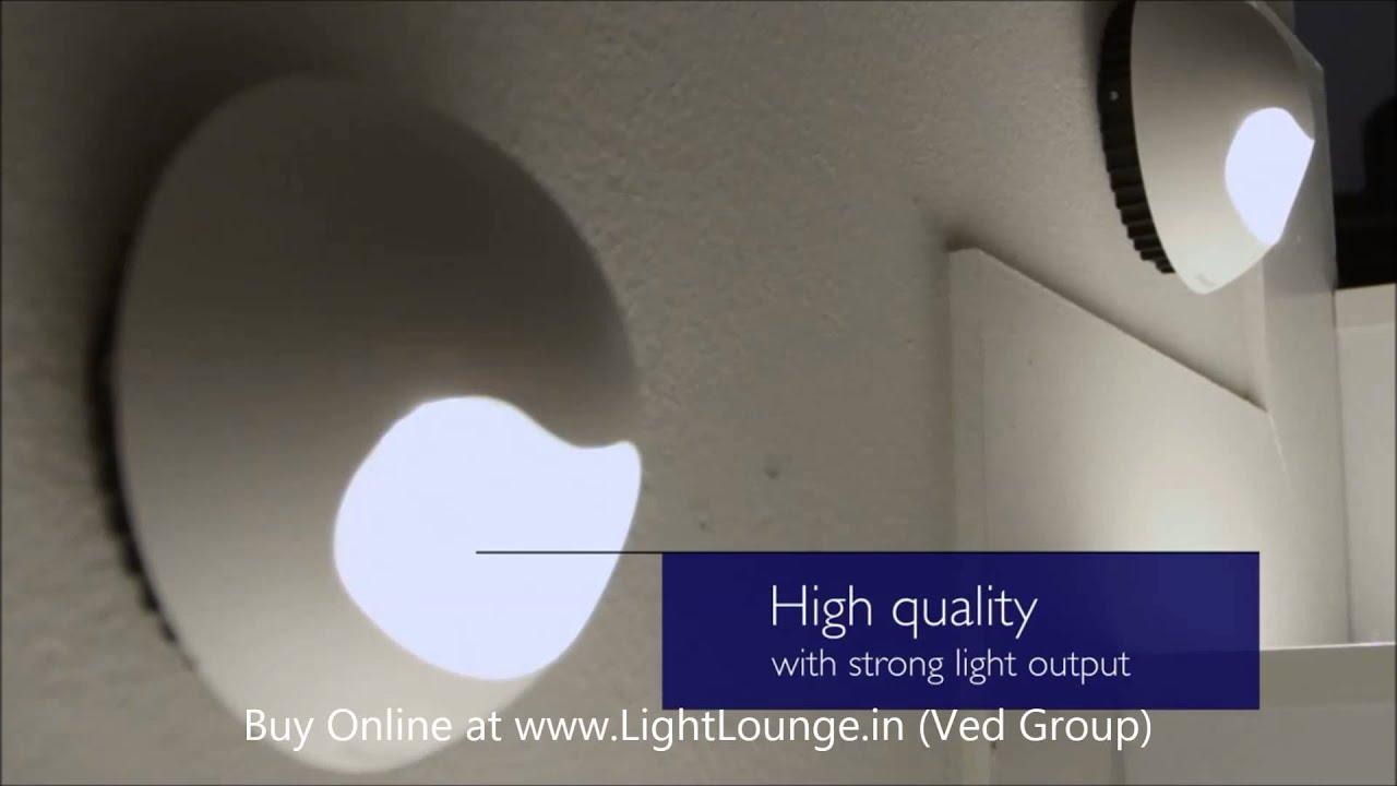 Philips ledino led wall light 1080p hd video youtube aloadofball Choice Image