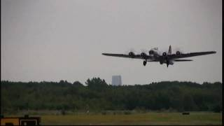 B-17 takeoff Wings & Wheels Expo, Teterboro NJ
