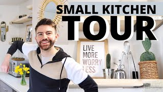 SMALL KITCHEN TOUR: HOW I RENOVATED MY KITCHEN ON A BUDGET UK (UNDER £100) MR CARRINGTON