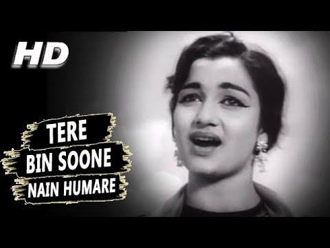 Tere Bin Soone Nain Humare Mohammed Rafi,Lata Mangeshkar  Meri Surat Teri Aankhen Songs  Asha Parekh