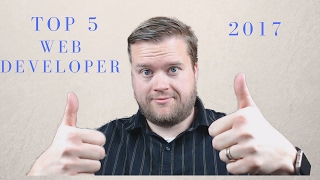 Top 5 Reasons to Become a Web Developer in 2017