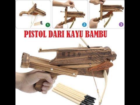 cara-membuat-pistol-air-dari-bambu