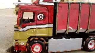 model trucks scania 144l 530 fiat 300pc