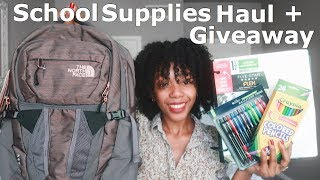 Back to School Supplies Haul 2018 + HUGE GIVEAWAY!