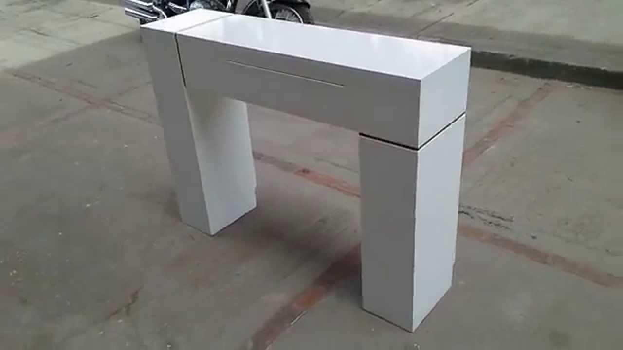 Muebles coffee consola o recibidor ref fito en color - Leroy merlin cubreradiadores ...