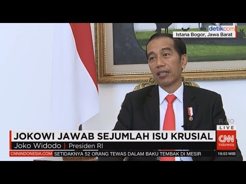 Gonjang -Ganjing 3 Tahun Pemerintahan, Jokowi Menjawab