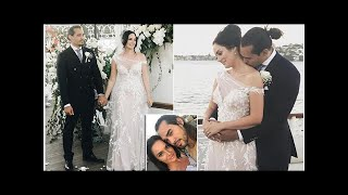 YouTube beauty star Chloe Morello ties the knot to her stripper partner in an extravagant wedding c