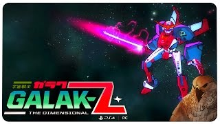 GALAK-Z Gameplay ★ Welcome to the Space Jam! ★ Falcon 1 Shot [Let