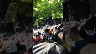 The Amity Affliction This Could Be Heartbreak (Clip) Live 7/14/18 Vans Warped Tour Holmdel NJ