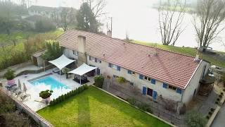 ay sur moselle - a vendre maison de standing avec piscine spa sauna ...