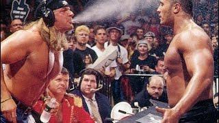Video Triple H vs The Rock - WWE Championship Match-Raw 1 download MP3, 3GP, MP4, WEBM, AVI, FLV November 2018