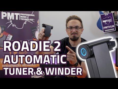 Roadie 2 Automatic Guitar Tuner & Motorised String Winder - Review & Demo