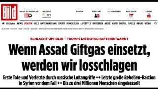 Giftgas? Wetten,dass? - USA & Frankreich drohen Syrien offen mit völkerrechtswidrigen Militärangriff