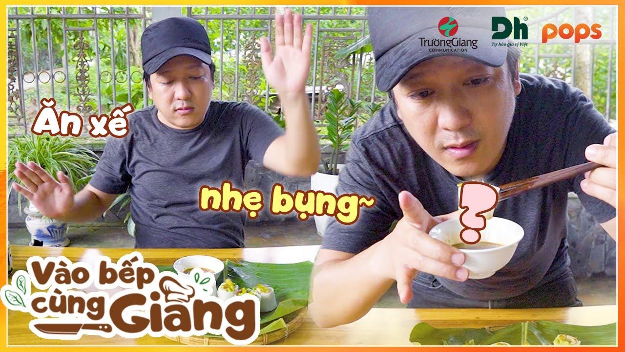 Teaser | Buổi chiều đói bụng, Trường Giang nấu món gì ăn nhẹ? | Vào Bếp Cùng Giang