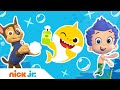 'Wash Your Hands Song' w/ Baby Shark, Paw Patrol & Bubble Guppies! | Sing Along | Nick Jr.