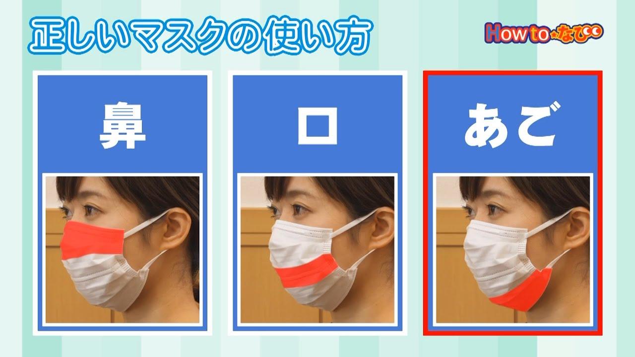 正しい 表裏 の マスク