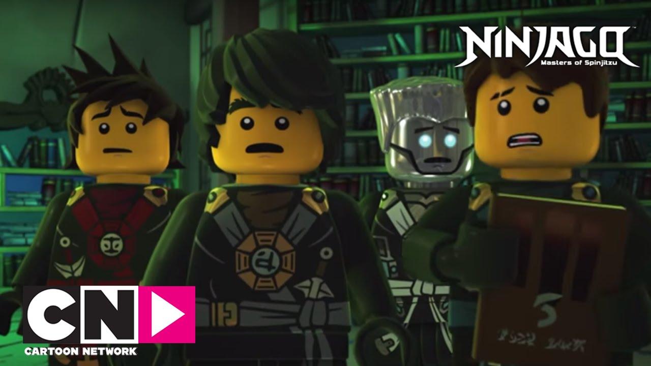 Ninjago I Perili Ev I Cartoon Network Türkiye Youtube