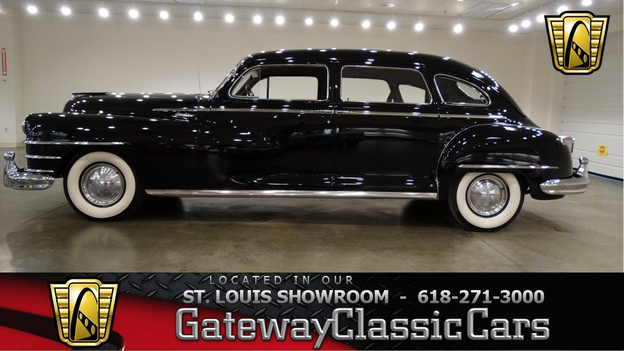 1948 Chrysler Windsor - Gateway Classic Cars - #6471 - YouTube