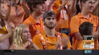 2016 Tennessee vs Appalachian State: Offense play by play