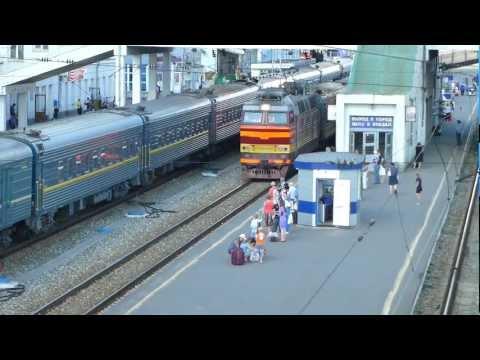 Panasonic TZ 30 Киров вокзал поезд