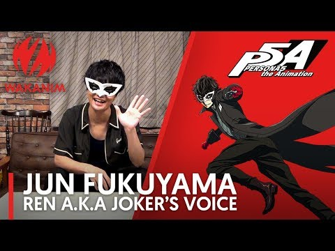 Special Message from Jun Fukuyama  Persona5 The Animation English Sub