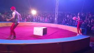 """Цирк """"Зоо империя"""" в Риге, декабрь 2015 (2часть)"""