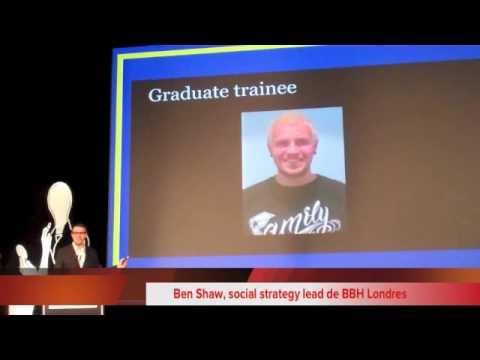"Eurobest 2013 - Gwyn Jones y Ben Shaw (BBH) - ""How to Get Ahead in Advertising"""