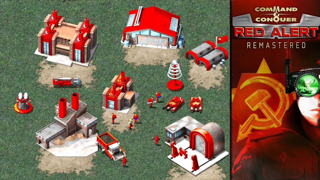 Download Red Alert 1 Remastered | Soviets vs Allied | First Gameplay Review | Remake | 4K High Definition