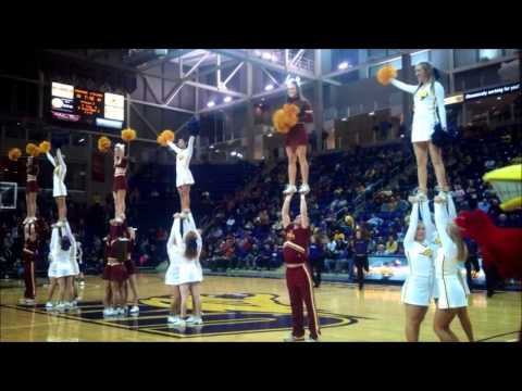 Digital Essay: University of Northern Iowa Cheerleading